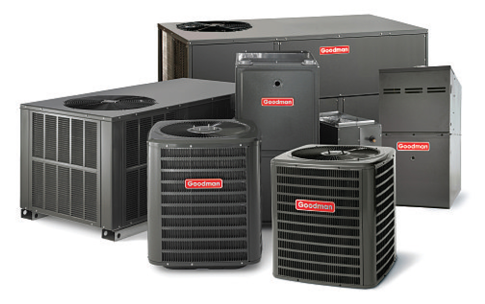 Grouping of furnaces and air conditioning