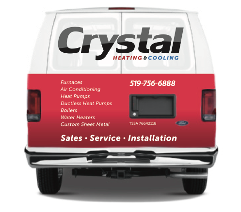 Crystal Heating and Cooling Brantford