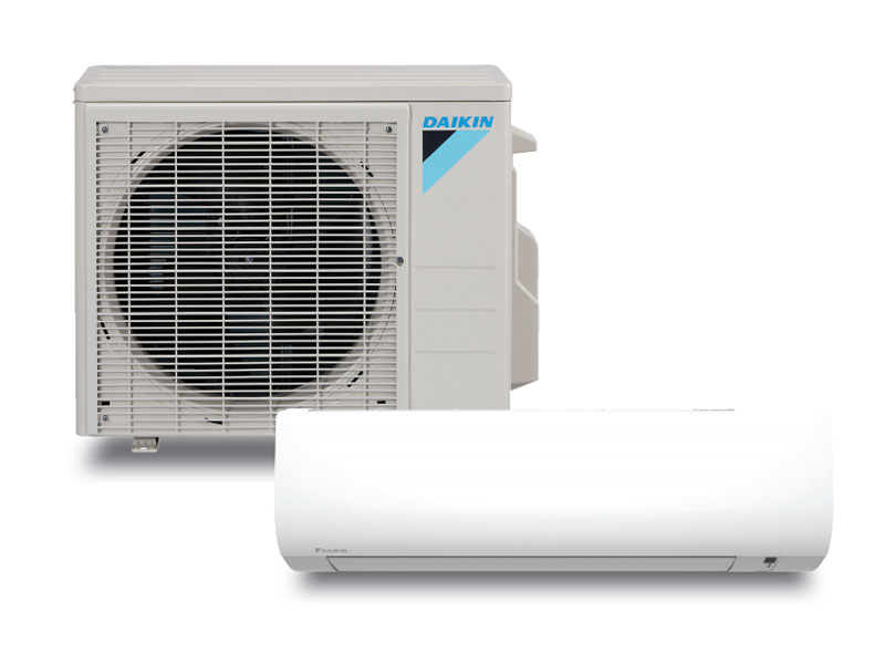 Daikin Single Zone Heating and Cooling Ductless Heat Pump and Air Conditioner